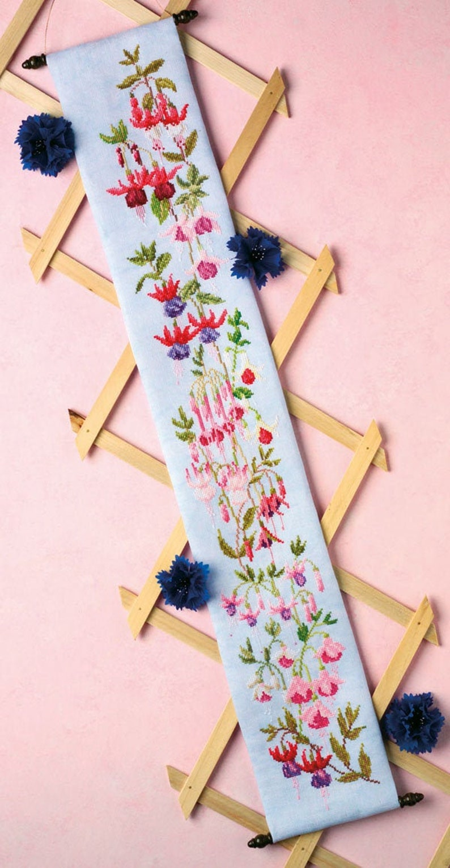 Cross Stitch design 'Fabulous Fuchsias'. image 0