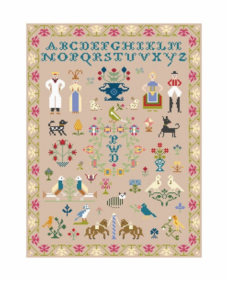 Alphabet Sampler 1 Download image 0
