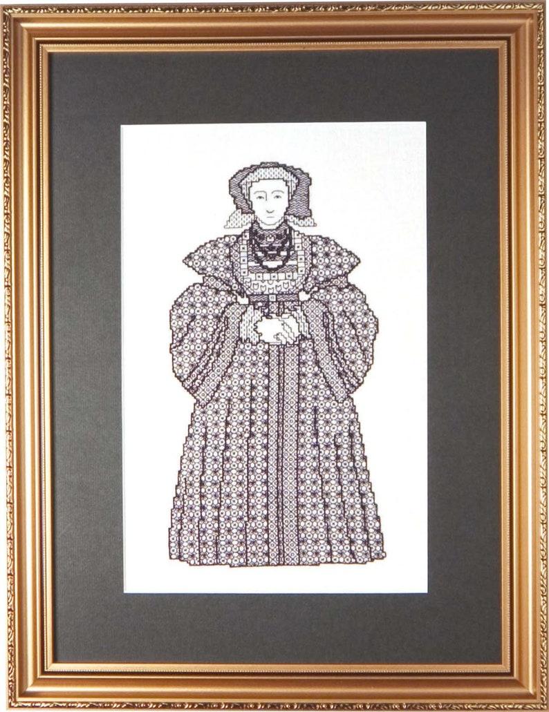 Blackwork Design 'Anne of Cleves' image 0