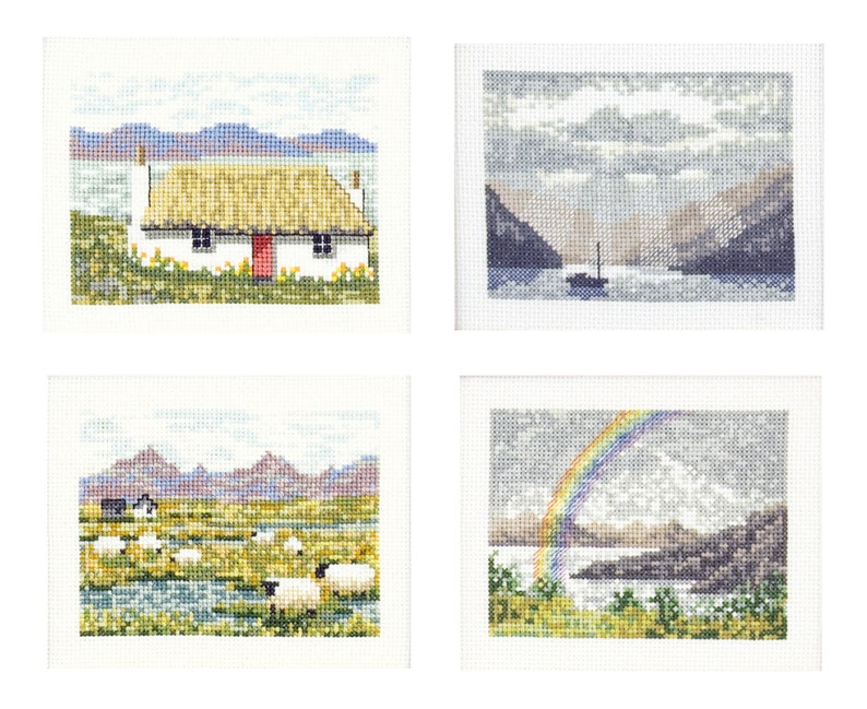 Cross Stitch Scottish Views image 0