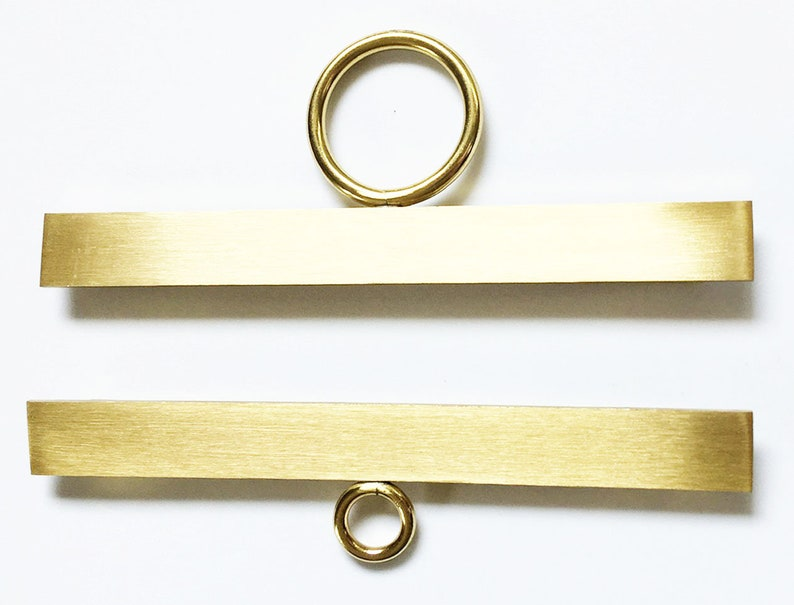 SALE  Brass Bell Pull Ends image 0
