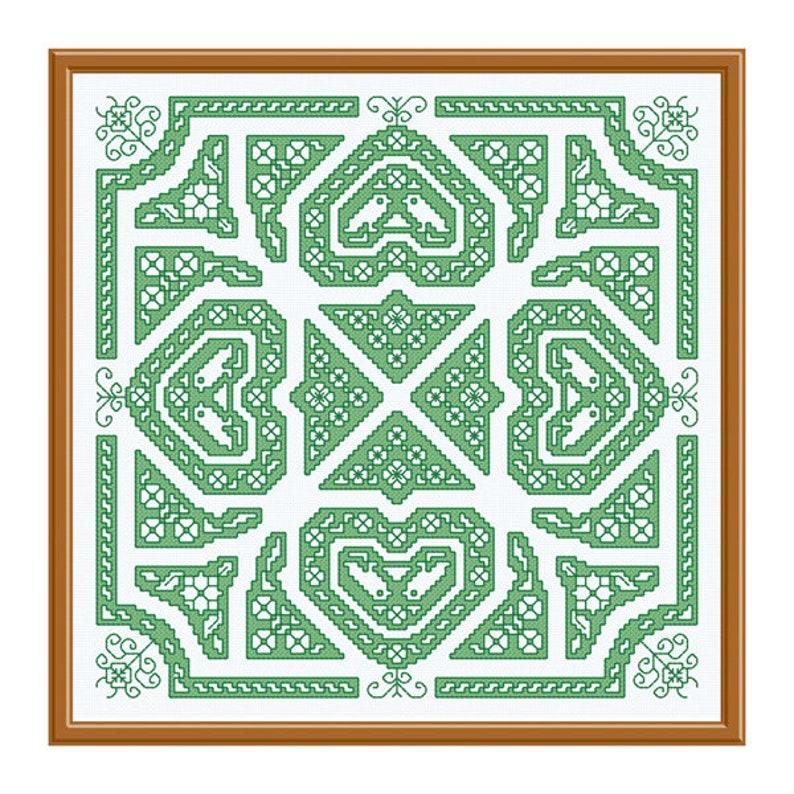 Green Assisi Knot Garden image 0