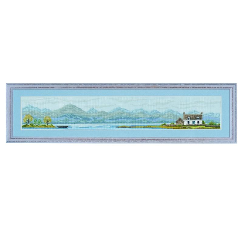 Cross stitch design 'Highland Living'. image 0