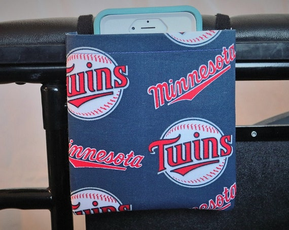 Twins Armrest Hanging Cell Phone Holder for a Wheelchair, Walker or other Mobility Aides