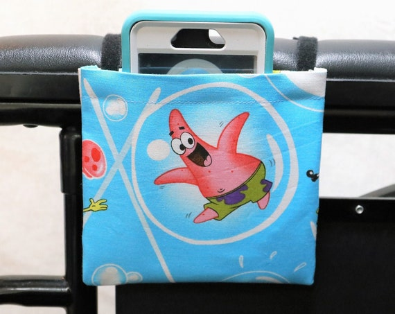 Patrick Armrest Hanging Cell Phone Holder for a Wheelchair, Walker or other Mobility Aides