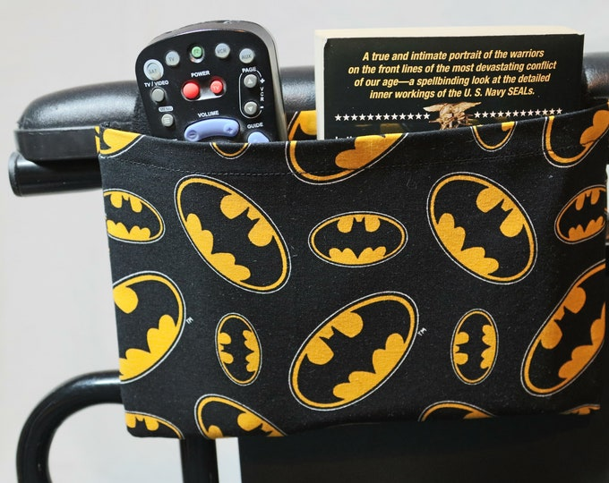 Featured listing image: Single Pocket Armrest Bag for Wheelchair, Walker or other Mobility Aides