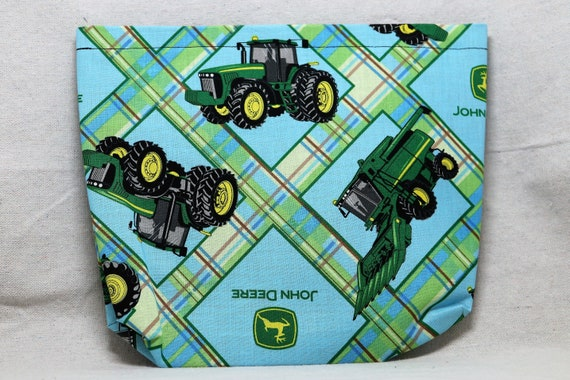 Tractors Single Pocket Armrest Bag for Wheelchair, Walker or other Mobility Aides, Optional Closure Styles Available