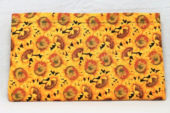 Sunflowers Single Pocket Armrest Bag for Wheelchair, Walker or other Mobility Aides