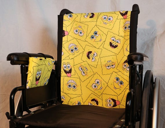 Wheelchair Seat Back Cover Set