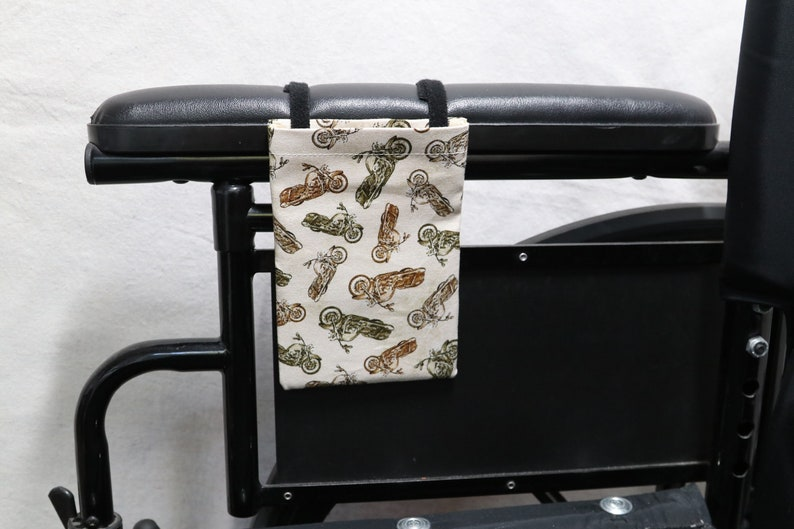 Walker or other Mobility Aides Motorcycles Armrest Hanging Cell Phone Holder for a Wheelchair