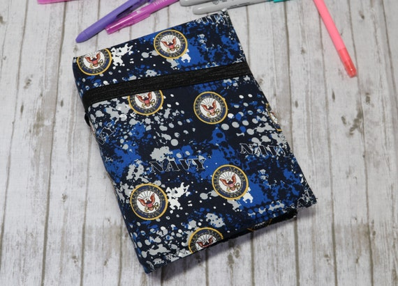 US Navy Hand Crafterd Travelers Notebook Inserts Included