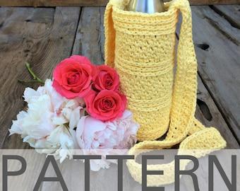 Peek-A-Boo Water Bottle Carrier Crochet Pattern