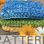 Crochet Kitchen Scrubby Pattern