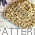 Crochet Hat Pattern | The Kimberly Hat | Crochet Hat for Women | Crochet Beanie | Crochet Slouchy Hat