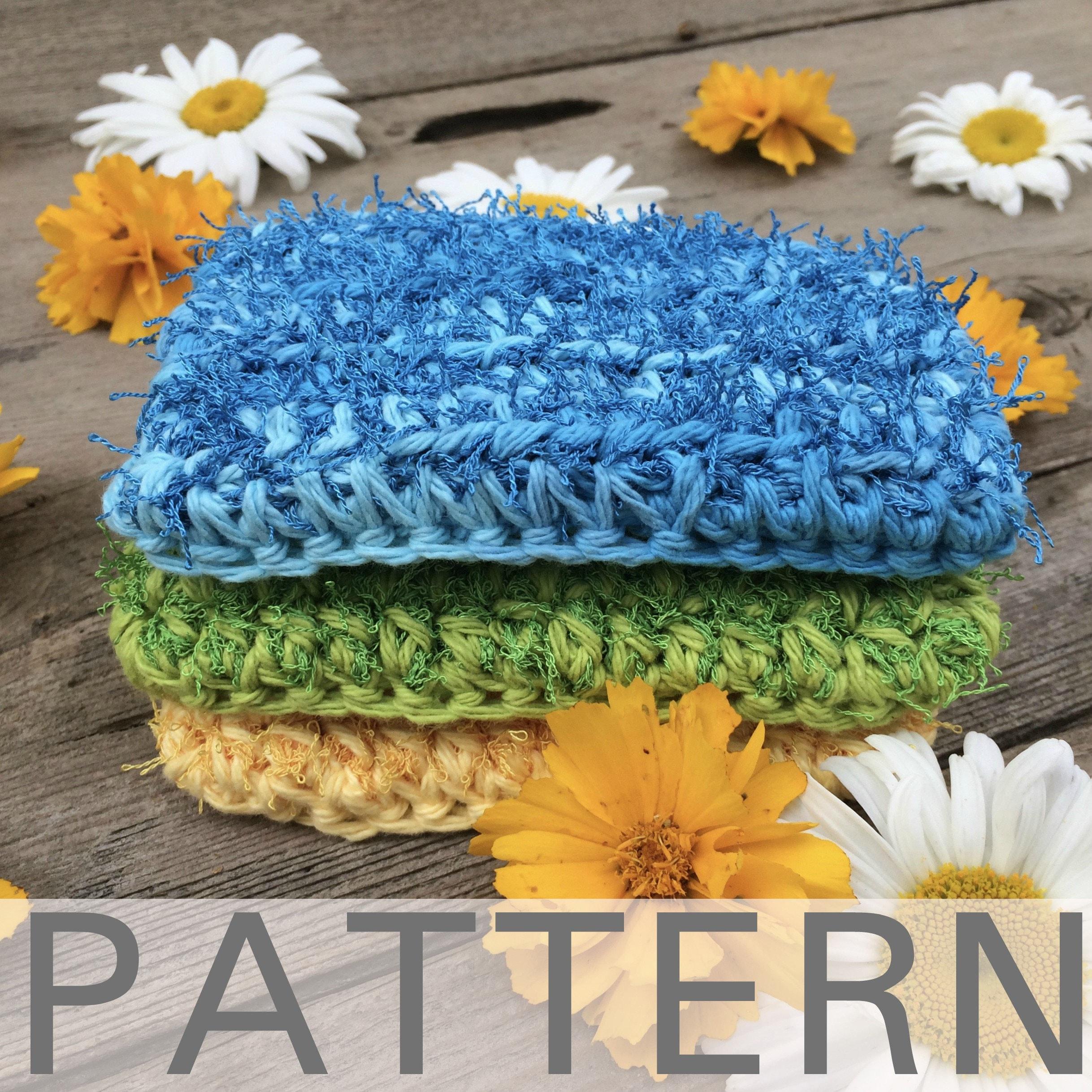 Crochet Kitchen Scrubby Pattern | Etsy