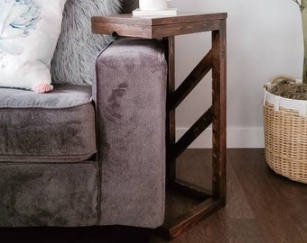 Outstanding Sofa Arm Table Etsy Ibusinesslaw Wood Chair Design Ideas Ibusinesslaworg