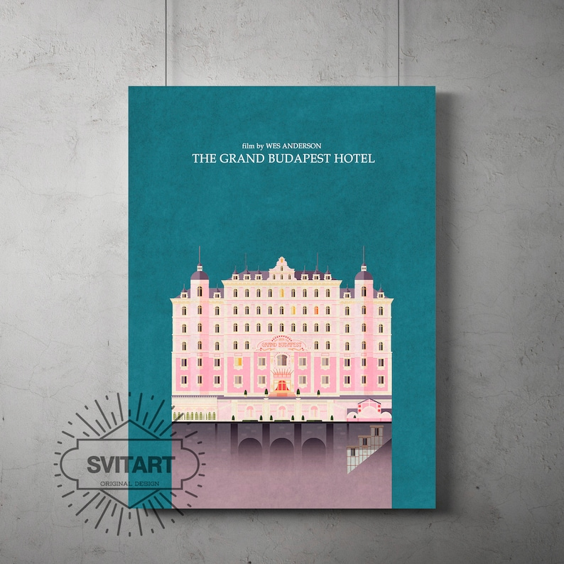 A4 A3 A2 A1 A0| The Grand Budapest Hotel Movie Poster Print T264