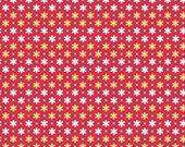 Riley Blake Fabric - Sunnyside Ave Daisy Red by Amy Smart C7102-RED Fabric Yardage