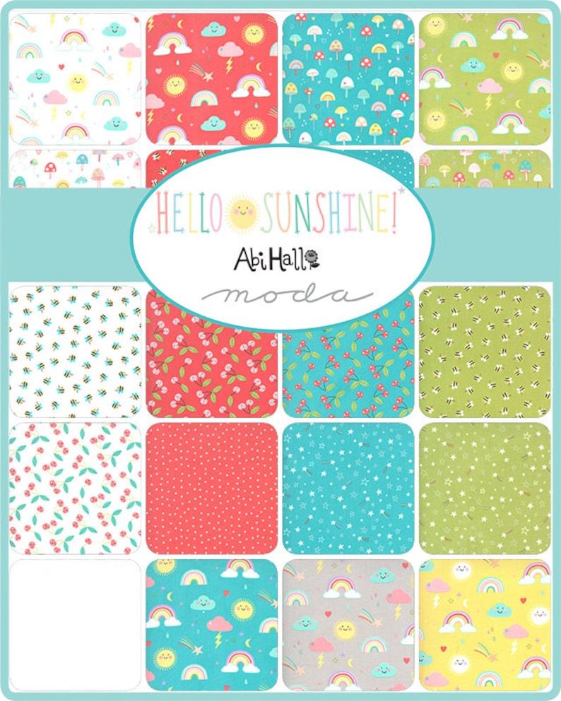 Hello Sunshine Stars Sunshine by Abi Hall for Moda Fabrics 35354 19