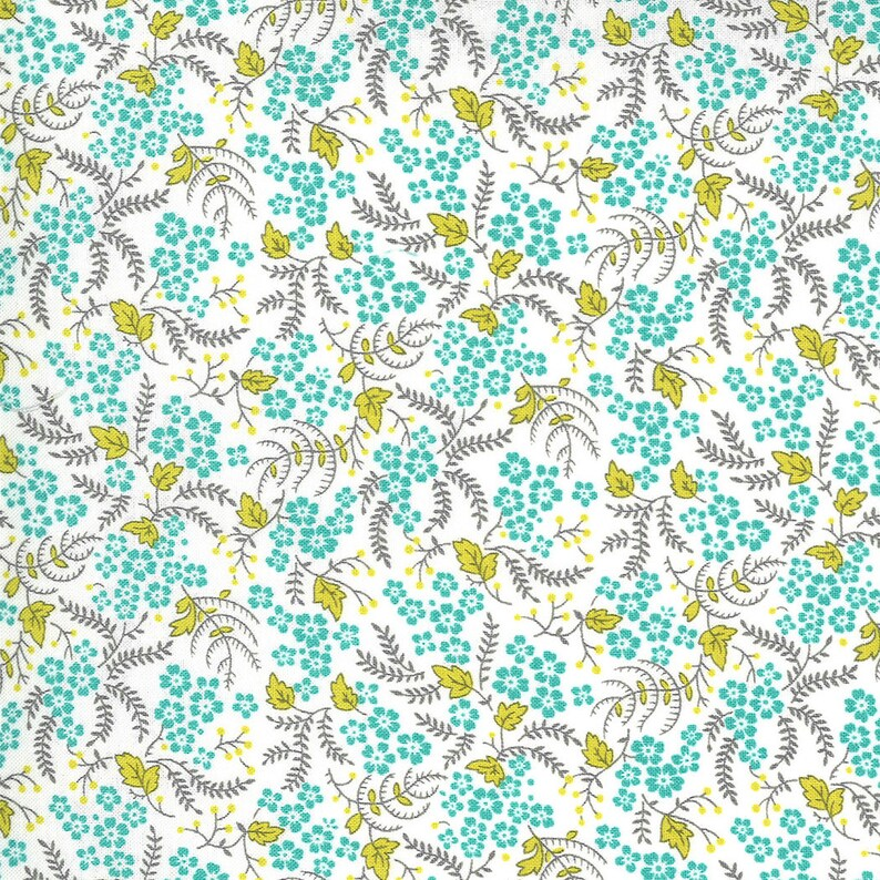 10 squares by Linzee Kull McCray and Moda Fabrics 42 pieces assorted 23330LC Flowers for Freya Layer Cake
