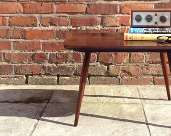 SOLD *** Ercol Vintage 50's Dark Finish Elm and Beech Occasional / Side / Coffee Table
