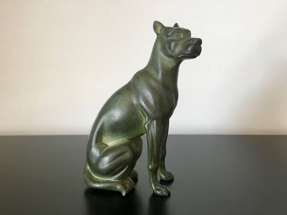 Hundemarmorstatue Büste ArtDog DE Argentinische Dogge