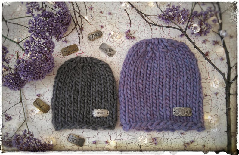 4bc15c407 Simple Super Bulky POLARIS Beanie Knitting Pattern
