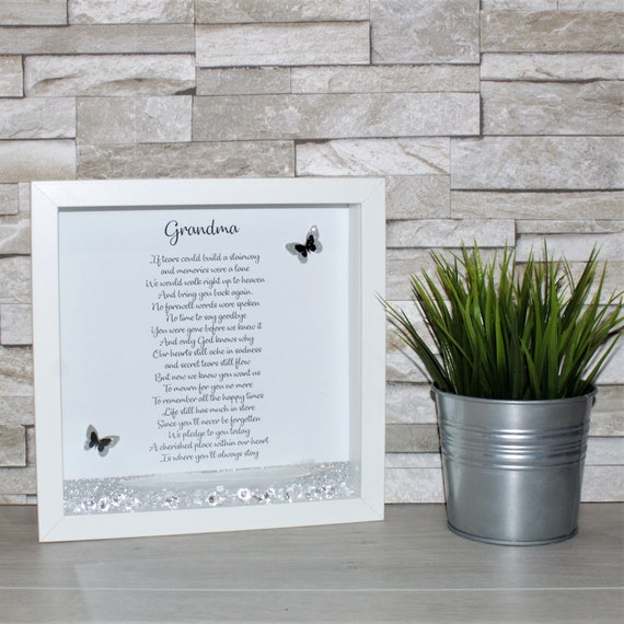 Stairway To Heaven Box Frame Memorial Gift Stairway To Etsy