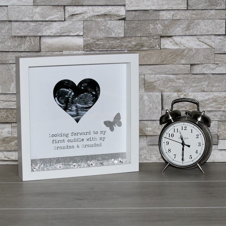 Scan Photo Gift 3d Box Frame Personalised Scan Gift From Etsy
