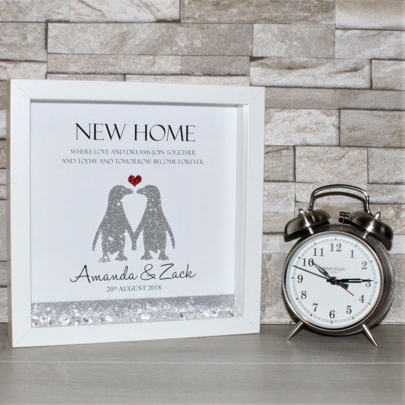 Personalised New Home Frame First Home Gift New House Gift | Etsy