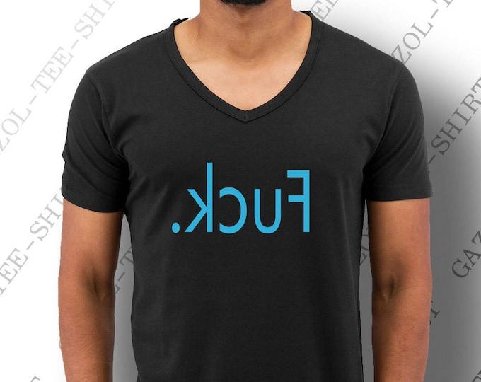 """T-shirt minimaliste """"Fuck"""". Drôle et mode."""