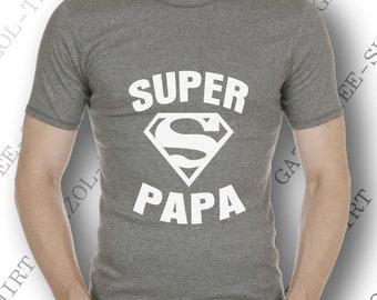 """""""SUPER PAPA"""". Une idée cadeau message pour super papa!"""