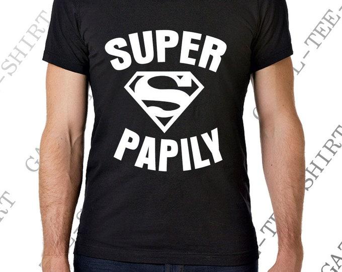 """T-shirt homme  """"SUPER PAPILY"""" pour Yotelle"""