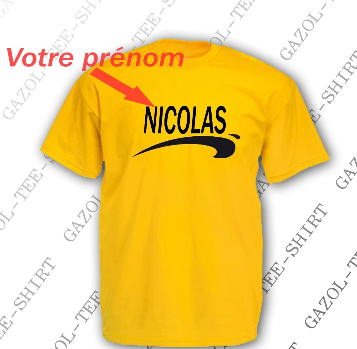 t shirt personnalisable brice de nice id e cadeau tee. Black Bedroom Furniture Sets. Home Design Ideas
