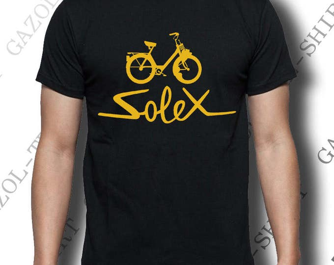"T-shirt ""solex"" Tee-shirt vintage idée cadeau."