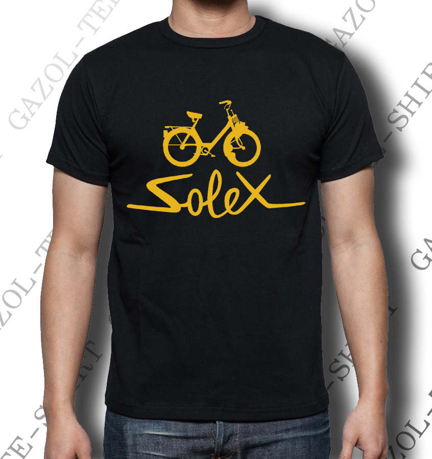 t shirt solex tee shirt vintage id e cadeau. Black Bedroom Furniture Sets. Home Design Ideas