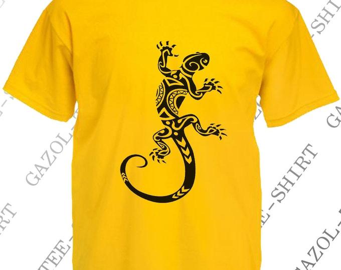 """T-shirt """"Gecko."""""""