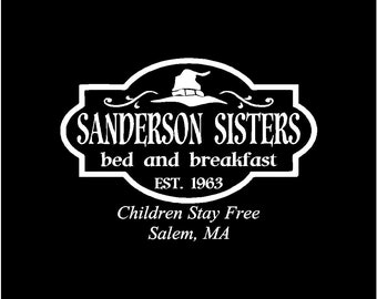 Sanderson Sister Bed & Breakfast Shirt
