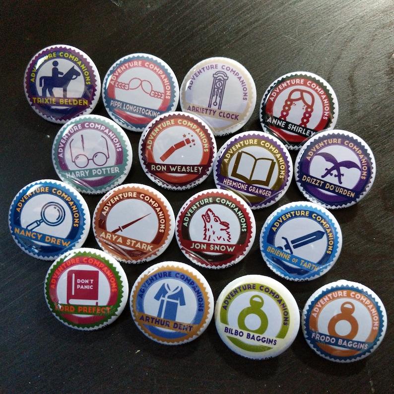 Adventure Companions magnets 1 25