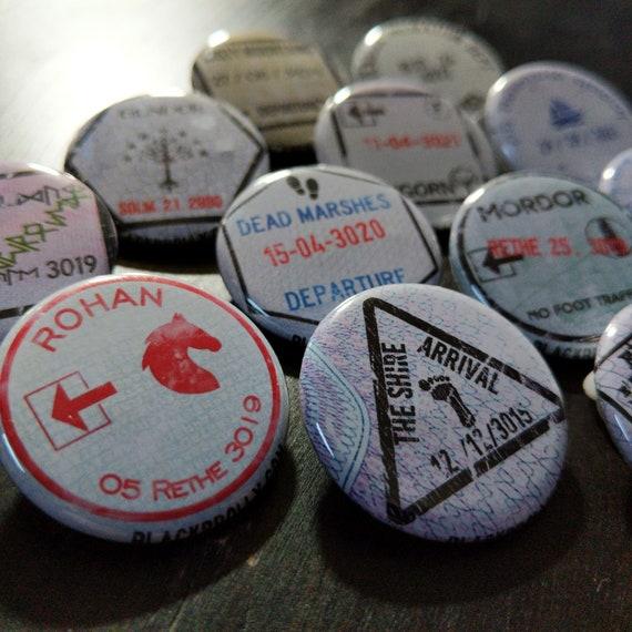 Complete set of 12 Cowboy Bebop buttons ON SALE 1.25  32mm pinback buttonbadge