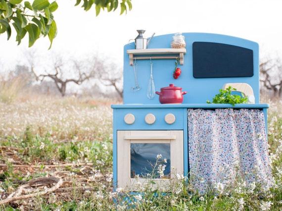 coin cuisine jouet bois coin cuisine pour les enfants etsy. Black Bedroom Furniture Sets. Home Design Ideas
