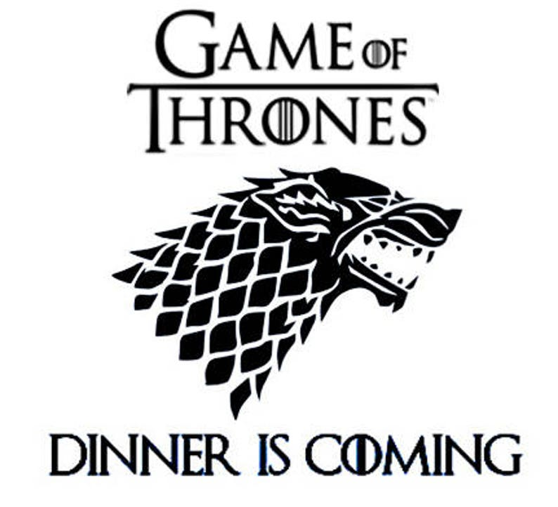 Laser cut engraving on wood designed to your needs. Game of thrones 15 x 11,5 Hole Paddle Shape Cutting Board