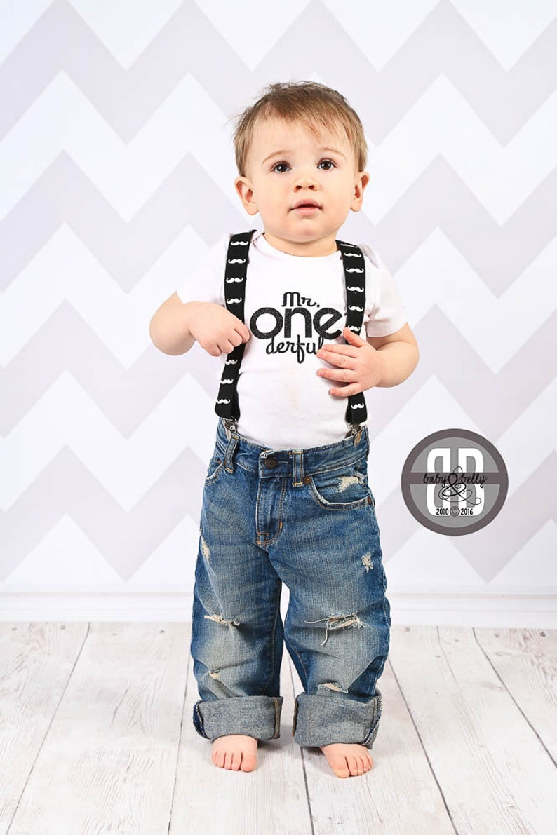First Birthday Boy Outfit DIY Iron On Transfer Mr One