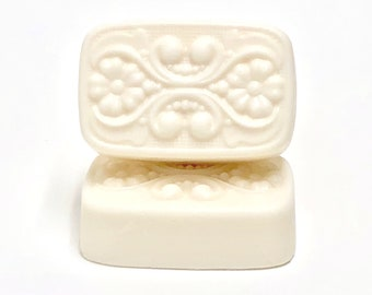 Sandalwood + Rose | shea butter soap | phthalates - detergent and paraben Free | The Graceful Rabbit