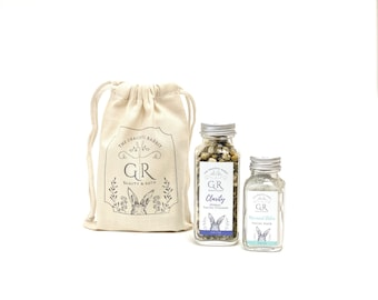 Clarity Herbal Facial Steamer and Mermaid Detox Clay Facial Mask Set| The Graceful Rabbit