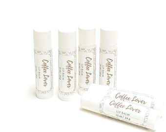 Coffee Lover | Lip Balm | phthalate and paraben free| The Graceful Rabbit