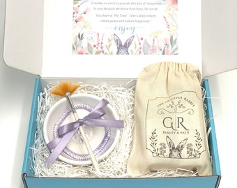 Gift Box for woman | Self Care Box | Skincare | Spa Day | Mother's Day Gift Set | Facial Mask