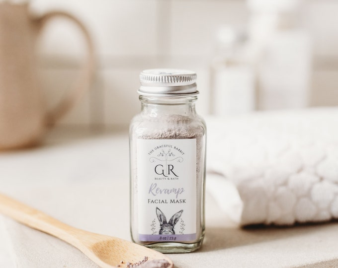 REVAMP Anti-Aging | Clay Facial Skincare Mask | Paraben - Cruelty Free | The Graceful Rabbit