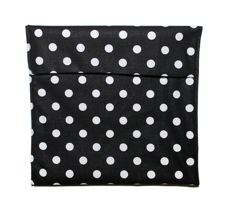 Square Bags Teacher Gift Back to School Black White Bag Easy Open Bags Coworker Gift Fold Top Baggies Snack Baggie Set Sandwich Bags