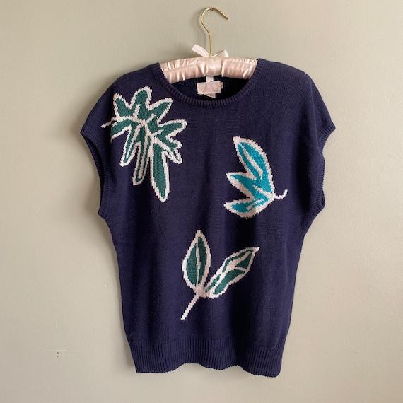 Vintage 70s Sweater Vest   Matisse Vest   Sleevele